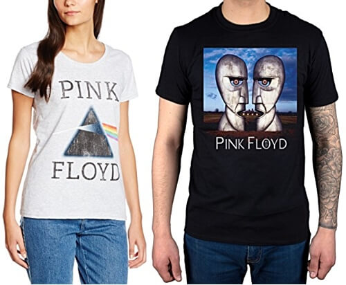 JUL 13 - PINK FLOYD T-SHIRTS. Celebrate the band's music with a stylish tee.