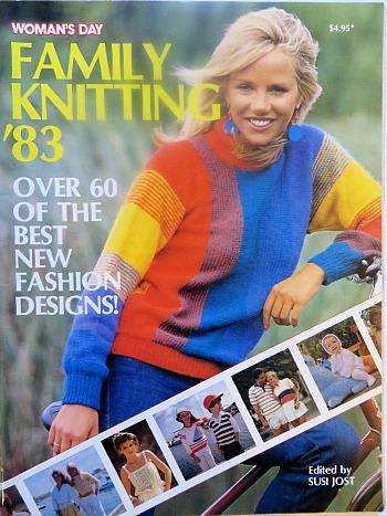 Woman's Day Family Knitting Magazine 1983