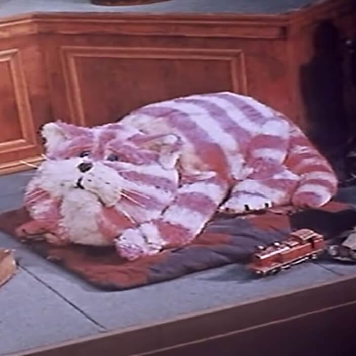 Bagpuss (the old saggy cloth cat)