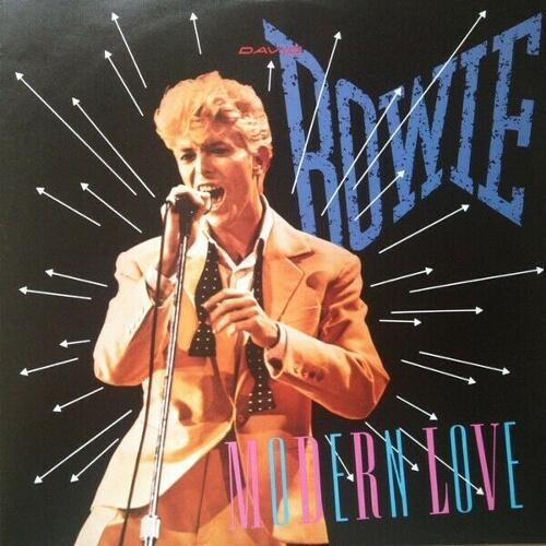 Modern Love 7 inch vinyl sleeve (1983) David Bowie