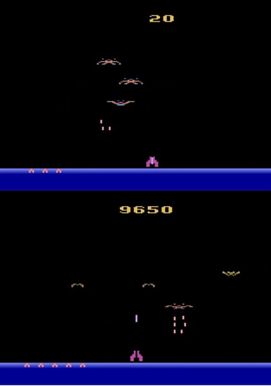 Demon Attack Atari 2600 Screenshots