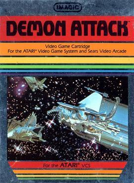 MAY 22 - DEMON ATTACK - a review of the classic shooter for Atari 2600, Intellivision.