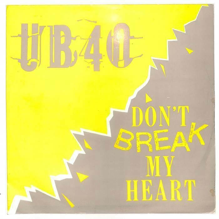 Don't Break My Heart, 12 inch vinykl sleeve, UB40 (1985)