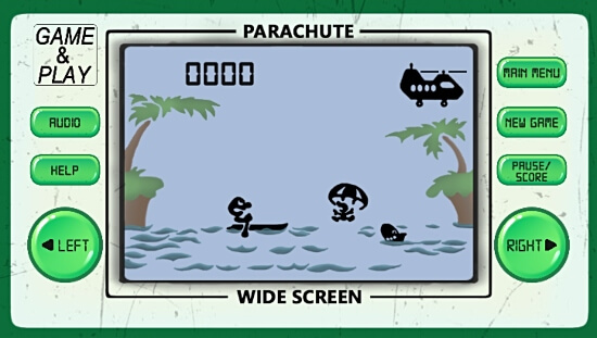Game & Watch Parachute Game for Android Screenshot