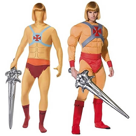 He-Man Fancy Dress Costumes for Adults