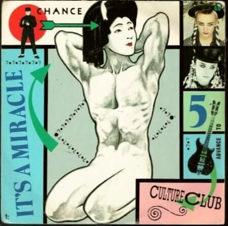 It's A Miracle 7 inch vinyl (1984) Culture Club