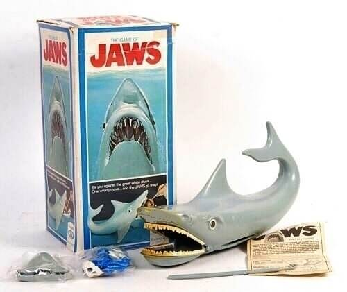 Jaws game by Ideal (1975)