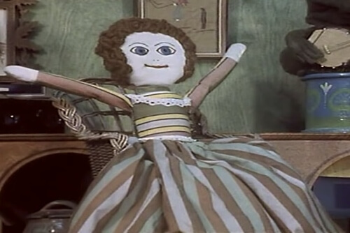 Madeleine the rag doll from Bagpuss