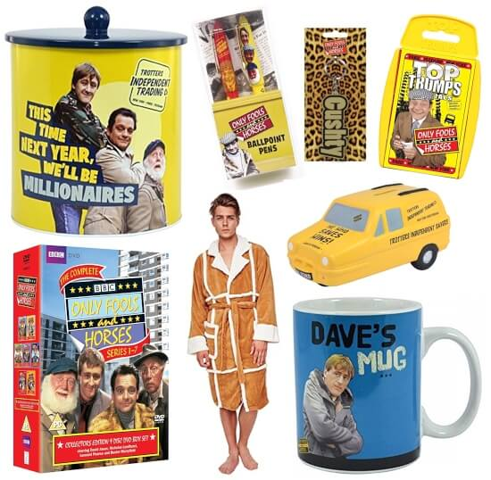 MAY 27 - ONLY FOOLS AND HORSES GIFTS - a lovely jubbly range of pukka gift ideas.