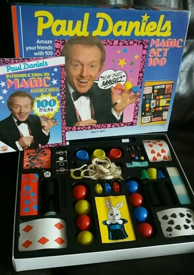 Paul Daniels Magic Set (1986) by Peter Pan