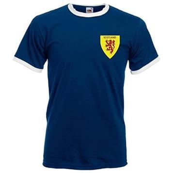 JUN 2 - RETRO SCOTLAND FOOTBALL SHIRTS - National team and club team shirts.