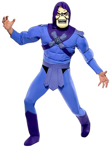 Skeletor Muscle Costume for Adults