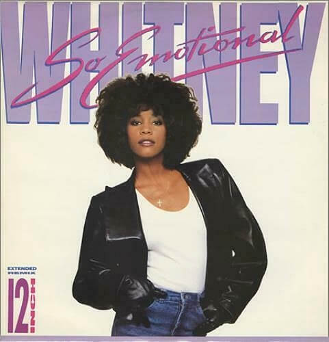NOV 22 - SO EMOTIONAL by Whitney Houston. A look back at her 1987 hit single with the official video.