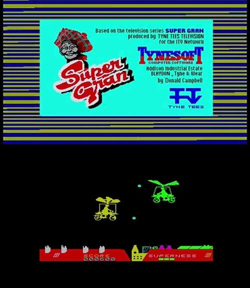 Super Gran ZX Spectrum screenshots