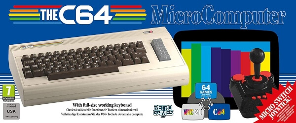 NOV 25 - THE COMMODORE 64 is back! With working keyboard, BASIC and built-in games.