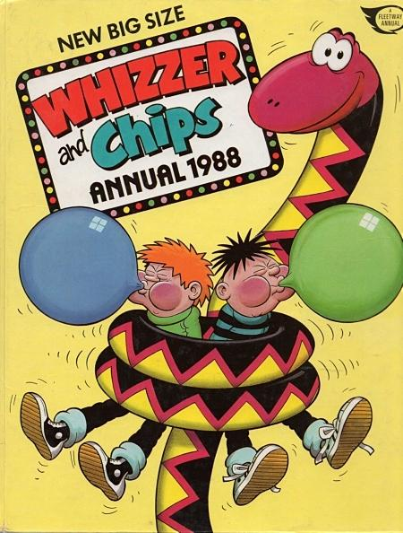 Whizzer and Chips Annual 1988