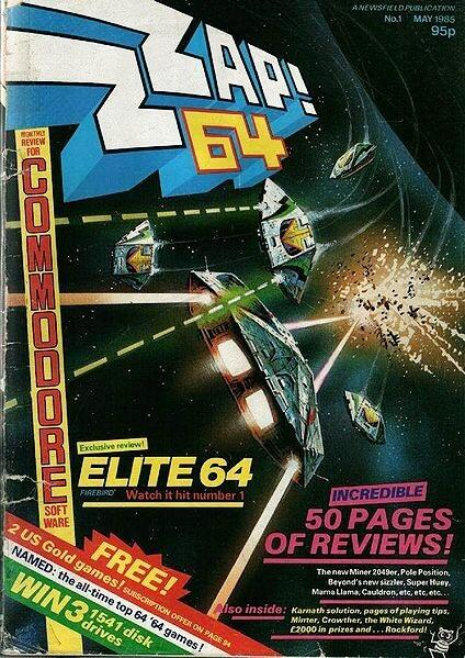 Zzap! 64 Issue 1 (May 1985)