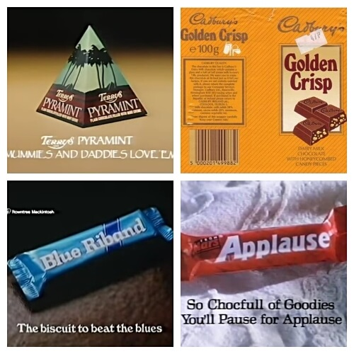 JUL 14 - 80s CHOCOLATE BARS - From Applause to Treets, How many of these do you remember?