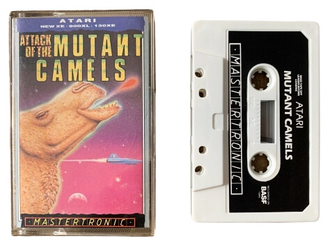 Attack of the Mutant Camels cassette (Mastertronic)