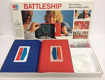 1970s Battleship MB Games