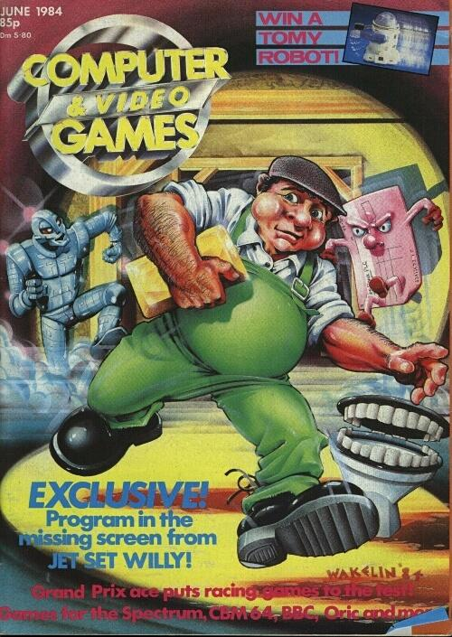 Computer & Video Games magazine issue 32 - June 1984
