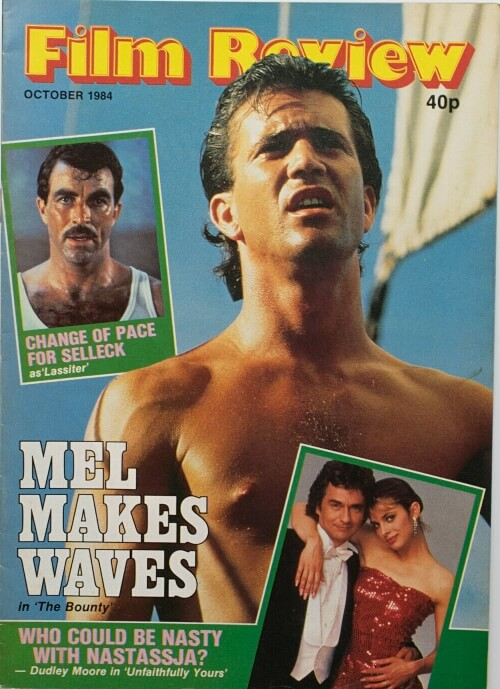 Film Review magazine October 1984 ft. Mel Gibson, Tom Selleck