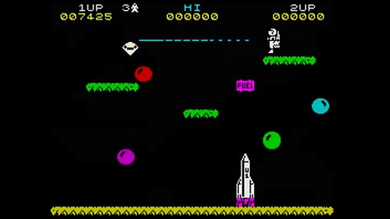 FEB 9 - JETPAC - a review of the classic ZX Spectrum space shooter game from 1983.