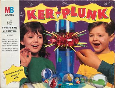 1991 Ker-Plunk Game by MB Games