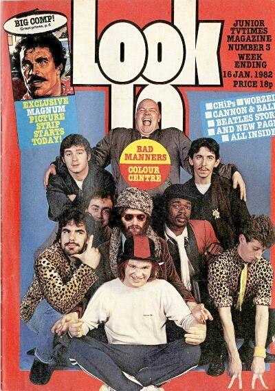 Look In magazine (16 Jan 1982) ft. Bad Manners