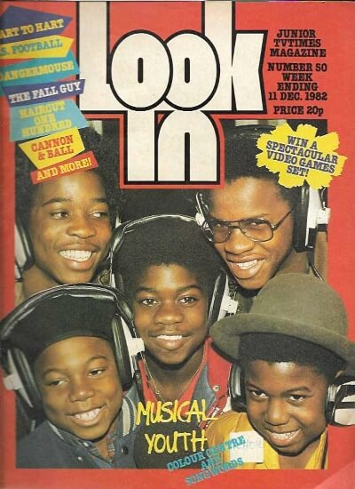 Look-In 11 Dec 1982 ft. Musical Youth