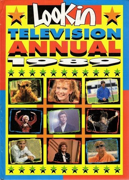 NOV 29 - LOOK-IN Television Annual 1989. Did you read this annual?