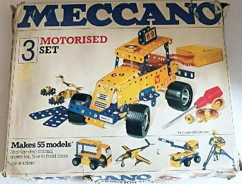 Mecanno 3 Motorised Set 1970s