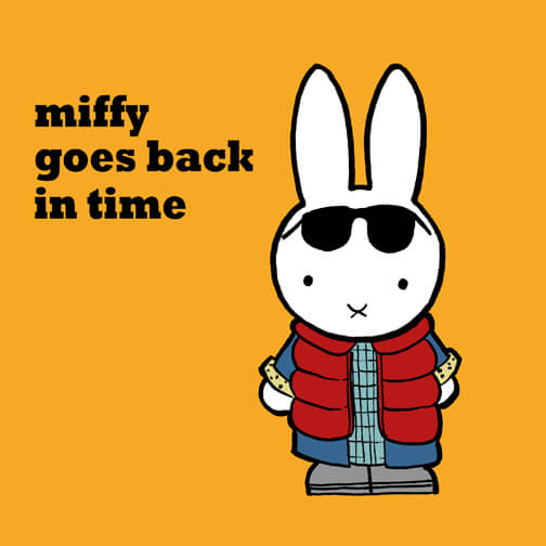 Miffy Goes Back in Time © Copyright Christopher Tupa