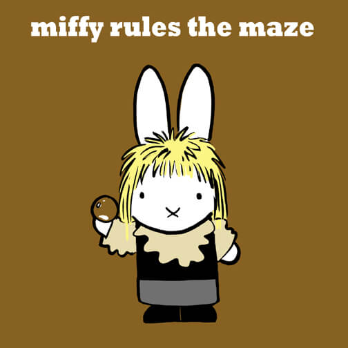 Miffy Rules The Maze © Christopher Tupa