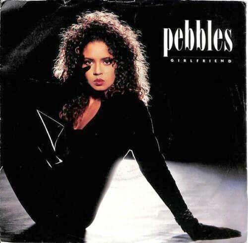 APR 16 - PEBBLES - GIRLFRIEND - the American singer's UK one hit wonder from 1988.