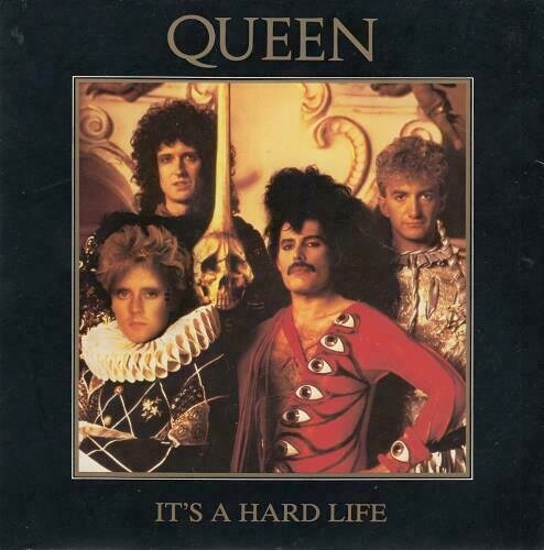 AUG 20 - QUEEN - It's A Hard Life. The band's third top ten hit from thebalbum The Works.