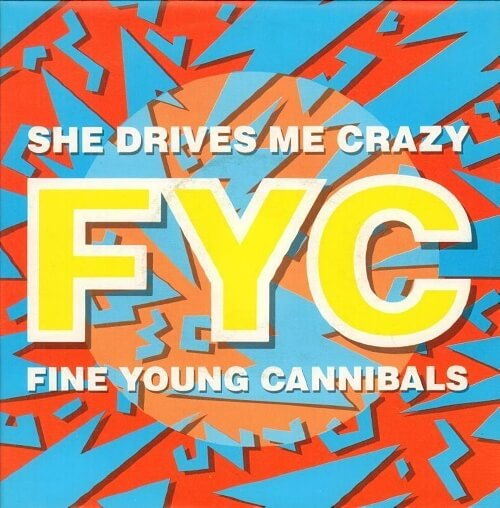 FEB 2 - SHE DRIVES ME CRAZY by Fine Young Canninals - official video and song facts.