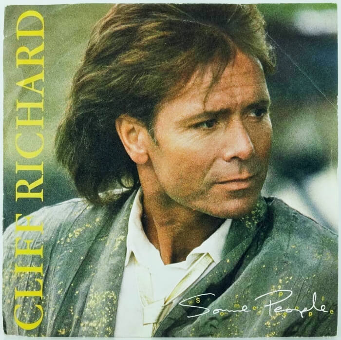 SEP 15 - CLIFF RICHARD - SOME PEOPLE - Cliff's No.3 hit single from 1987 with video and song facts.
