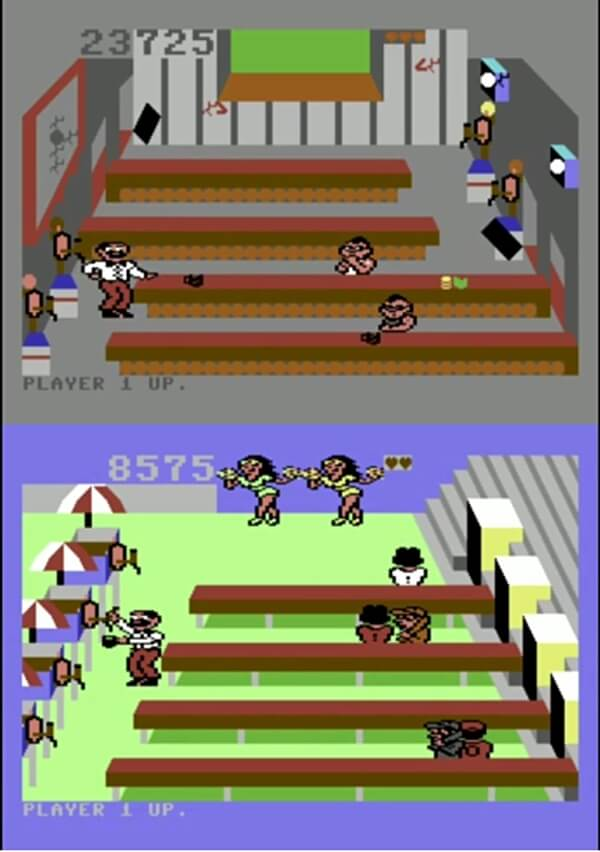 Tapper C64 Screenshots