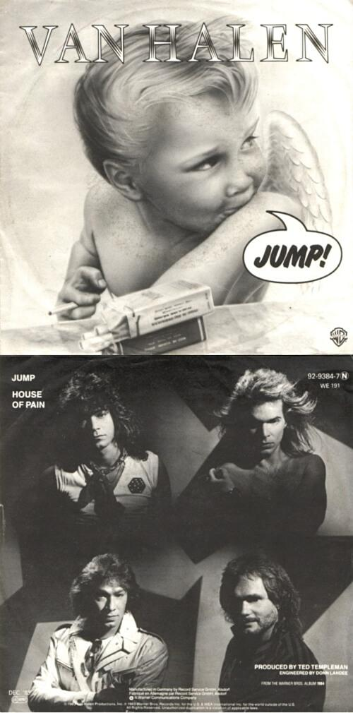 OCT 8 - VAN HALEN - JUMP - Following the sad death of Eddie Van Halen, we look back at the band's best known hit.
