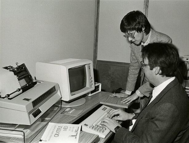OCT 5 - THE IMPRESSIVE EVOLUTION of the Office Workspace - from the 1980s to today.