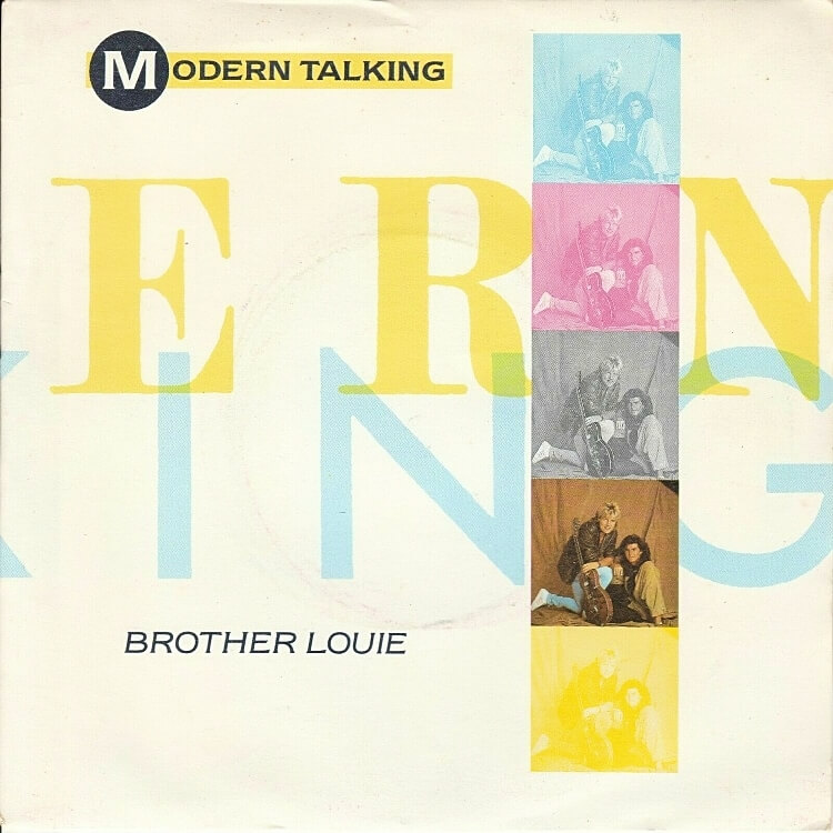 SEP 1 - MODERN TALKING - Brother Louie. The sunth-pop duo's 1986 hit single reviewed.
