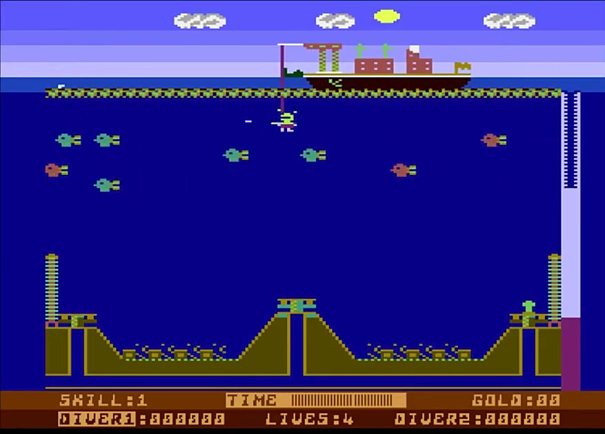 OCT 21 2021 - CAPTAIN STICKY'S GOLD - a review of the Atari computer game by English Software.