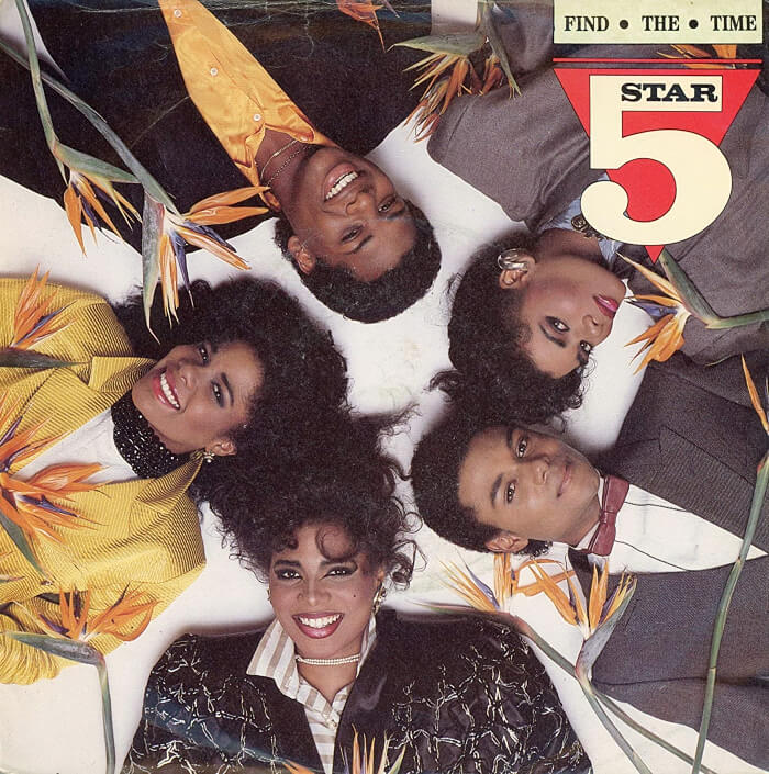 AUG 13 - FIVE STAR - FIND THE TIME - the band's third consecutive top ten hit. Video and song facts.