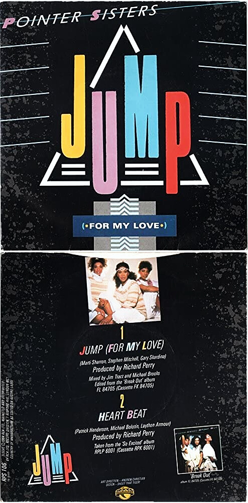 JUL 7 - POINTER SISTERS - JUMP (FOR MY LOVE). A review of the 1984 top ten hit from the Californian trio.