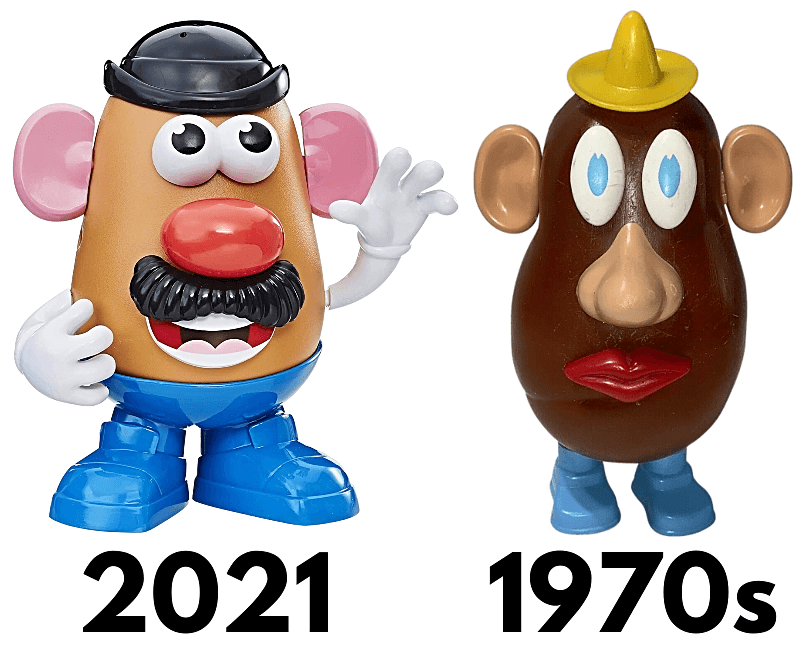 SEP 4 - 10 AMAZING FACTS ABOUT MR. POTATO HEAD. Did you know the original toys used real potatoes?