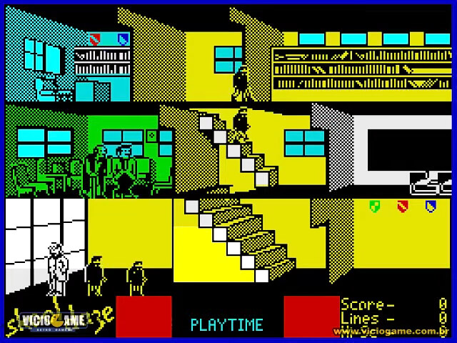 AUG 3 - SKOOL DAZE. A review of the 1984 video game by Microsphere for the ZX Spectrum and C64.