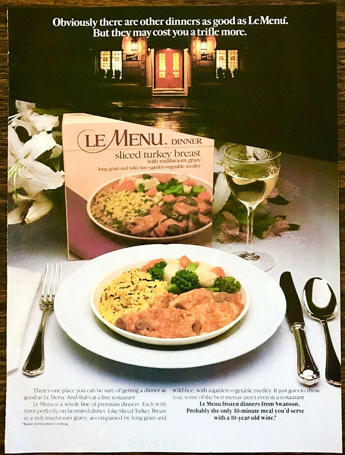 MAY 31 - HERE'S WHY THE 80S was the era of the instant ready-made meal.