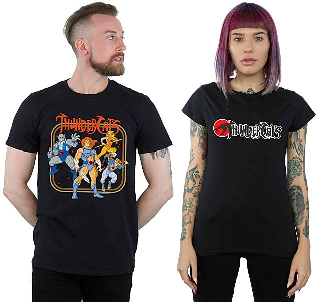 JUL 17 - THUNDERCATS T-SHIRTS and GIFTS. Pay homage to the classic 80s cartoon.