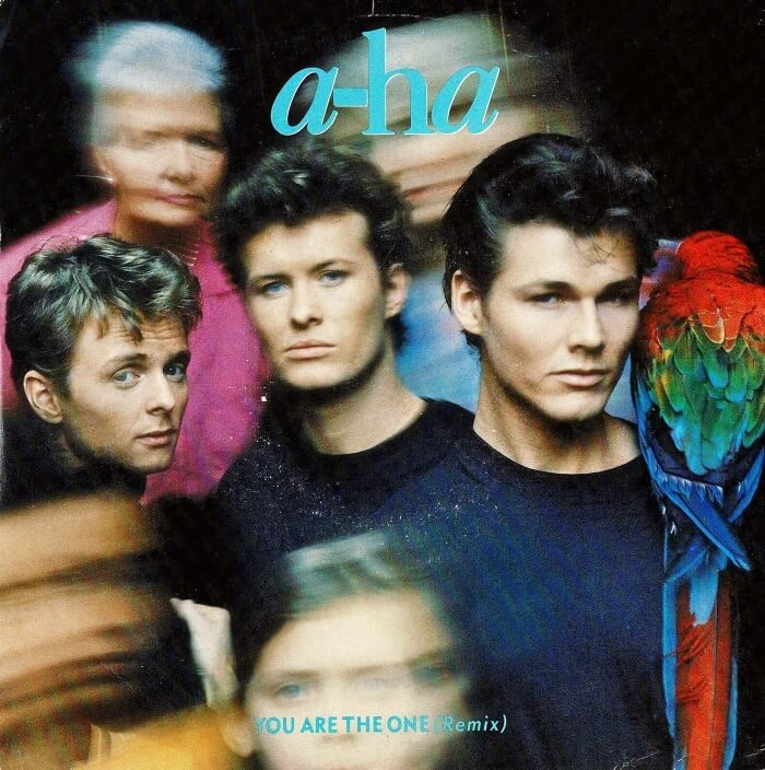 JUN 29 - A-HA - YOU ARE THE ONE. The Norwegian synthpop band's final hit of the 80s.